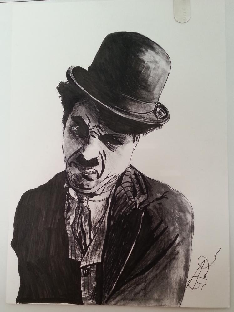 Charlie Chaplin by GP1805